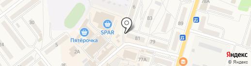 ВСК, САО на карте Балтийска