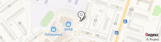 Русская Балтика Тур на карте Балтийска