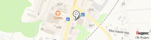 Магазин канцелярских товаров на карте Балтийска
