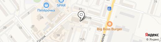 Салон памятников на карте Балтийска
