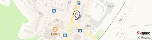Люксор на карте Балтийска