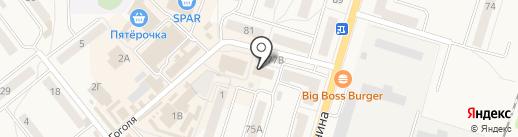 Шпилька на карте Балтийска