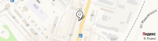 Фреш Маркет на карте Балтийска