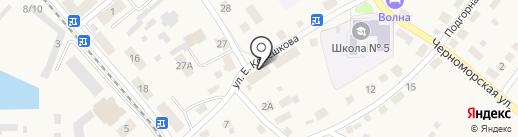 Черные береты на карте Балтийска