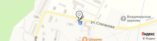 Почтовое отделение на карте Донского