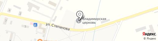 Храм Владимирской иконы Божией Матери на карте Донского