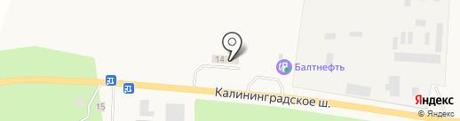 Автомойка на карте Приморска