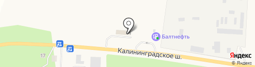 Автосервис на карте Приморска