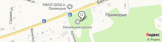 Сбербанк, ПАО на карте Приморья
