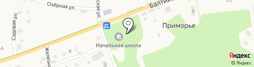 Сбербанк России на карте Приморья
