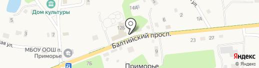 Администрация на карте Приморья