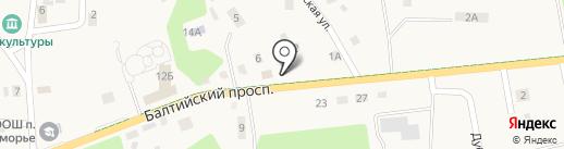 Продуктовый магазин на карте Приморья