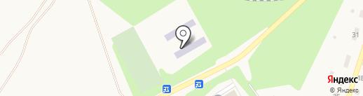 Средняя общеобразовательная школа №3 на карте Светлого