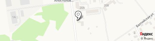 СВЕТЛЫЙ ДОМ, МУП на карте Светлого