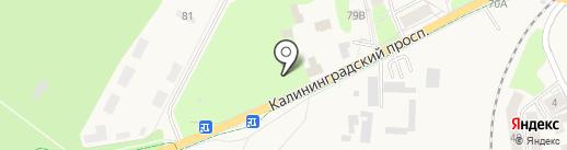 Банкомат, Сбербанк, ПАО на карте Светлогорска