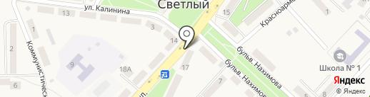 Почта Банк, ПАО на карте Светлого