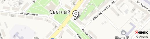Банк Уралсиб, ПАО на карте Светлого