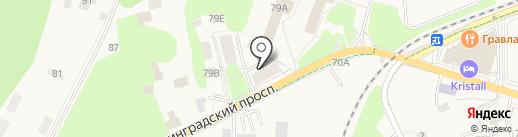 Раушен комфорт на карте Светлогорска
