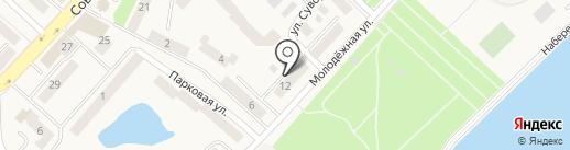 Комплексный центр социального обслуживания населения в Светловском городском округе на карте Светлого