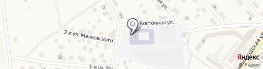 Средняя общеобразовательная школа №5 на карте Светлого