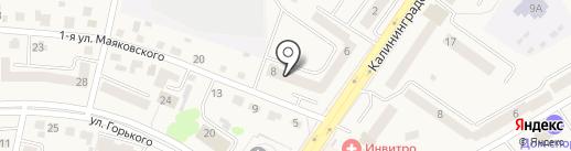 Росгосстрах банк, ПАО на карте Светлого