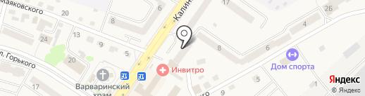 Сбербанк России на карте Светлого