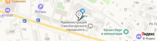 Федеральная служба государственной статистики по Калининградской области на карте Светлогорска