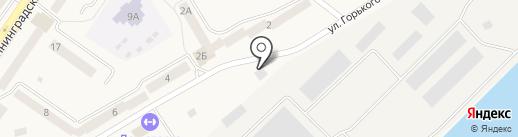 Станция Технического Обслуживания на карте Светлого