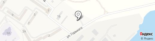 Автостоянка на карте Светлого