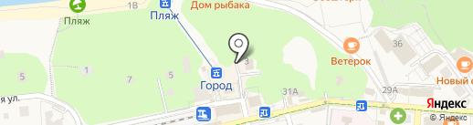 Военно-следственный отдел по Зеленоградскому гарнизону на карте Светлогорска