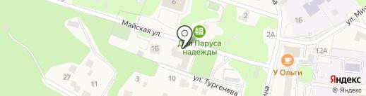 Паруса Надежды на карте Светлогорска