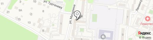 Сбербанк, ПАО на карте Светлогорска