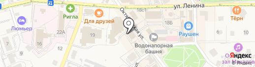 У лукоморья на карте Светлогорска
