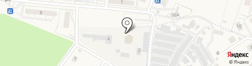 Парикмахерская на карте Светлогорска
