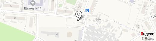 ГрантАвто на карте Светлогорска