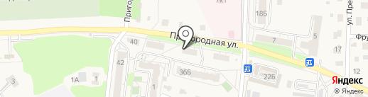 Почтовое отделение №3 на карте Светлогорска