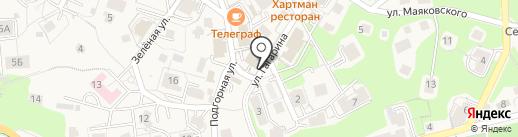 Магазин бытовой химии и парфюмерии на карте Светлогорска