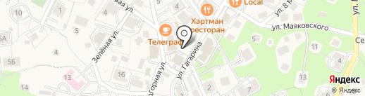 МАК на карте Светлогорска