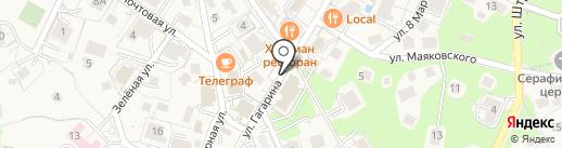 Магазин сумок и кожгалантереи на карте Светлогорска