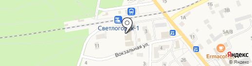УФМС на карте Светлогорска