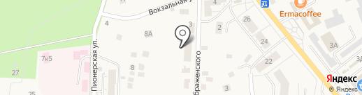 Анна на карте Светлогорска