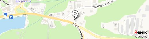 Светлогорский межрайонный следственный отдел на карте Светлогорска