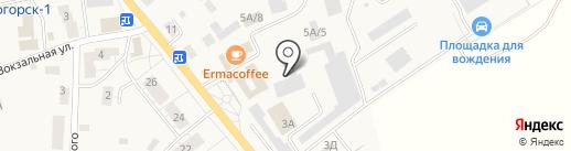 Рыбный магазин на карте Светлогорска