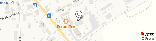 Магазин одежды и обуви на Калининградском проспекте на карте Светлогорска