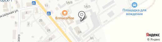 Магазин автозапчастей для иномарок на карте Светлогорска