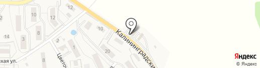 АЗС ЛУКОЙЛ на карте Светлогорска