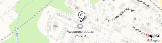 Единая Россия на карте Пионерского