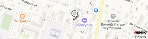 МакроСтрой на карте Пионерского