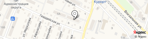 Asti на карте Пионерского