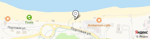 Центр Государственной инспекции по маломерным судам МЧС России по Калининградской области на карте Пионерского